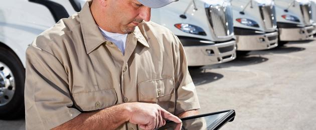 Transportation Management Transported by Mobile Technology